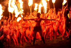 Beltane, fire festival, witches and wizard night, May Day, may tree - pagan rites